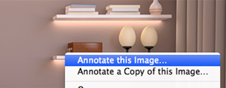 Image annotation on Mac