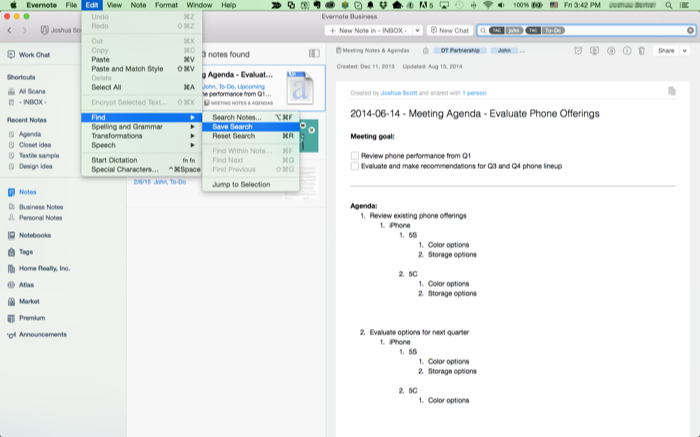 How to manage your tasks with Evernote