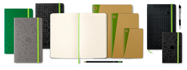 Evernote Notebooks by Moleskine