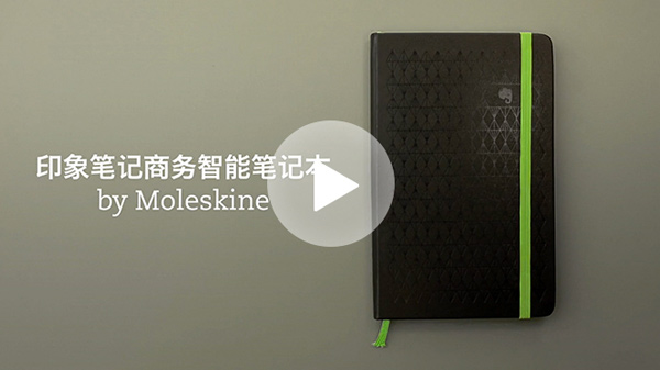 Video Evernote Notebook di Moleskine