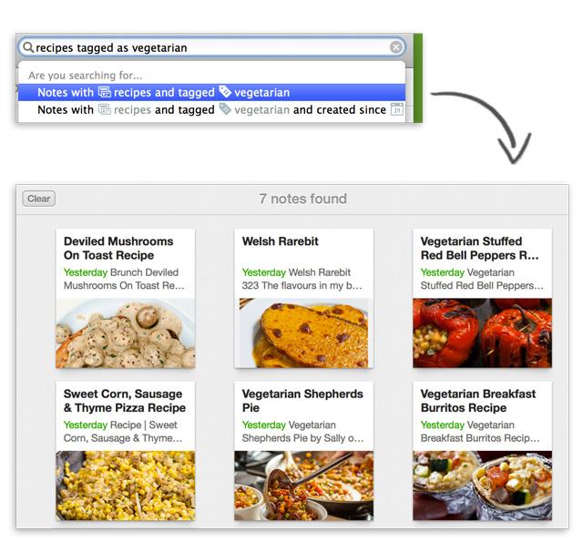 Resultaten vegetarische recepten