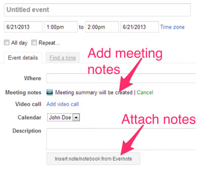 Powerbot for Google Calendar