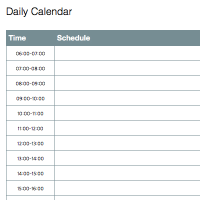 free daily schedule templates for excel smartsheet daily diary template word formatsharewarecentralcom at keyoptimize daily diary template word format