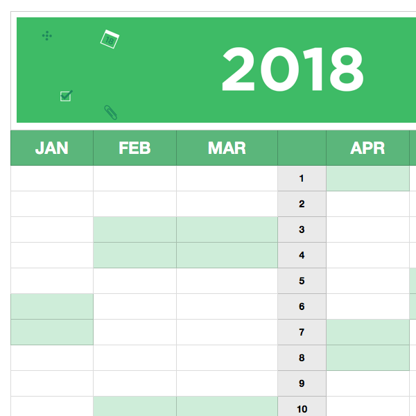 2018 Planning Templates Evernote Help Learning