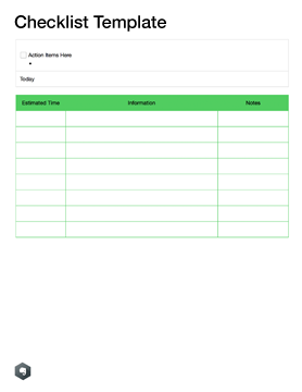 Note Templates For School Evernote Help Learning