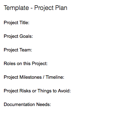 note templates for project management evernote help learning
