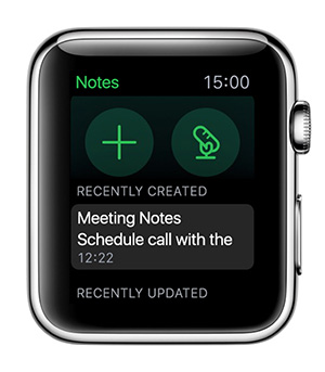 Pagina principale di Apple Watch