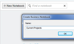 Create a new notebook