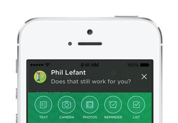 工作群聊消息通知iOS